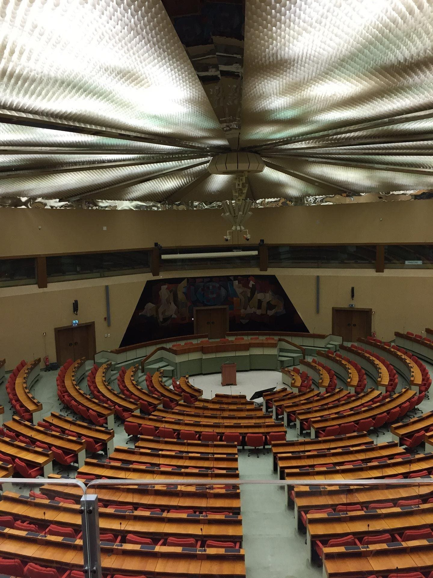 Hémicycle à Luxembourg